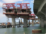 อย่างดี Single Girder Overhead Cranes & Rhombus Bridge Builder Custom Form Traveller System Rhombus Form Traveler ลดราคา