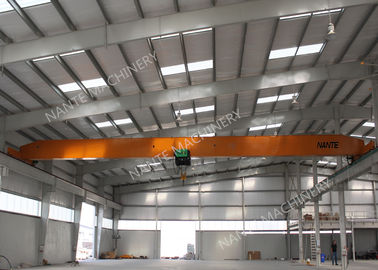 ประเทศจีน 10T Single Girder Overhead Cranes For Factories / Material Stocks / Workshop ผู้จัดจำหน่าย