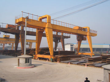 ประเทศจีน MG120t - 32m - 22m Double Beam Gantry Crane For Steel Factory / Port / Shipbuilding ผู้จัดจำหน่าย
